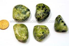 05 Jadeita Rolado Pedra Natural de Garimpo Esoterismo Colecionador Reff 46.1