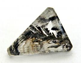 Dendrita Gema Trillion Facetado Montagem de Joias Pedra natural Cod GT7891