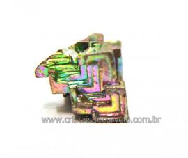 Bismuto Mineral ou Bismuth Stone Pedra Natural Cod BB8370