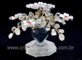 Arvore da Primavera Pedra Rolada Cristal Natural REFF AF6947