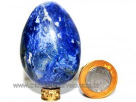 Ovo Sodalita Azul Pedra Natural Lapidado Manual cod OS2785