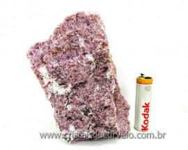 Lepidolita Mica Mineral Para Colecionador Pedra Natural de Garimpo Cod 492.3
