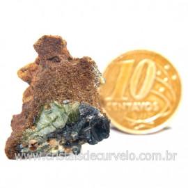 Ludlamita Pedra Matriz Siderita Bruta Natural Coleção Cod 127892