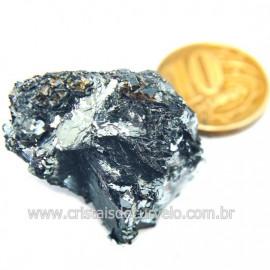 Galena Pedra Bruto Mineral Fonte Chumbo e Prata Cod 124239