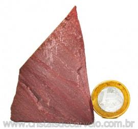 Dolomita Vermelha Pedra Natural Bruto de Garimpo Cod 110876