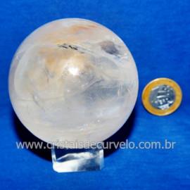 Bola Cristal Comum Qualidade Pedra Uso Esoterico Cod 117834