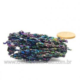 Sílicio Arco-Íris Pedra Natural Redutora de Radiação Cod 123339