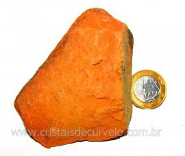 Laterita Pedra Bruto Natural Importado P Colecionador Cod LB9475