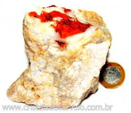 Calcedonia Geodo Pedra Bruto Natural de Garimpo Cod 110394