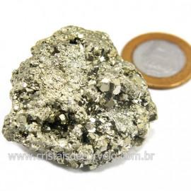 Pirita Peruana Pedra Extra Com Belos Cubo Mineral Cod 124225