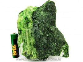 Diopsidio Verde Pedra Bruto Pra Colecionador Mineral Legitimo de Garimpo Cod 474.8