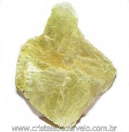 Chapa de Mica Amarela Bruta Natural de Garimpo Cod 115601