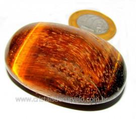 Massageador Sabonete OLHO DE TIGRE Pedra Natural Cod ST9755