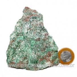 Fuxita Mica Verde Para Colecionador Pedra Natural Cod 126811