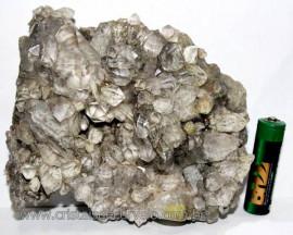 Drusa de Cristal Exótica P/Coleção Pedra Especial Cod 101442