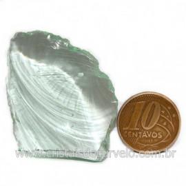 Obsidiana Verde Pedra Vulcanica Ideal P/ Coleçao Cod 128438