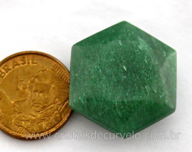 Estrela De Davi Ou Selo de Salomao Pedra Quartzo Verde Natural Pequeno 5 a 20 G