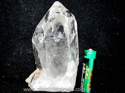 Ponta Cristal Bruto Quartzo de Garimpo Natural Cod CB7730